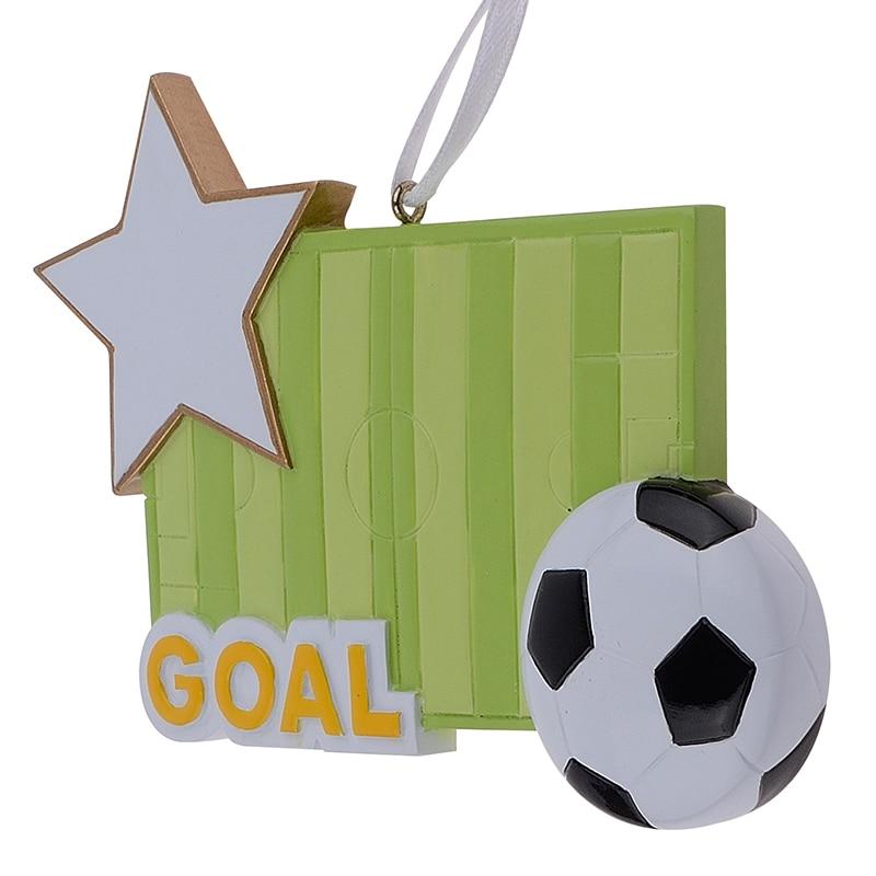 Futbol Sahəsi İdman Qatran sənətkarlığı Milad bəzəkləri - Ev dekoru - Fotoqrafiya 6