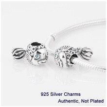 L231 base del tornillo de rosca forma de los pescados del encanto de la joyería hecha of 100% auténtica plata de ley 925 encajen para estilo pandora pulsera