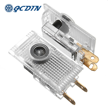 QCDIN for HOLDEN Pair LED Car Logo Door Projector Light Welcome Ghost Shadow HSV Commodeore Captiva