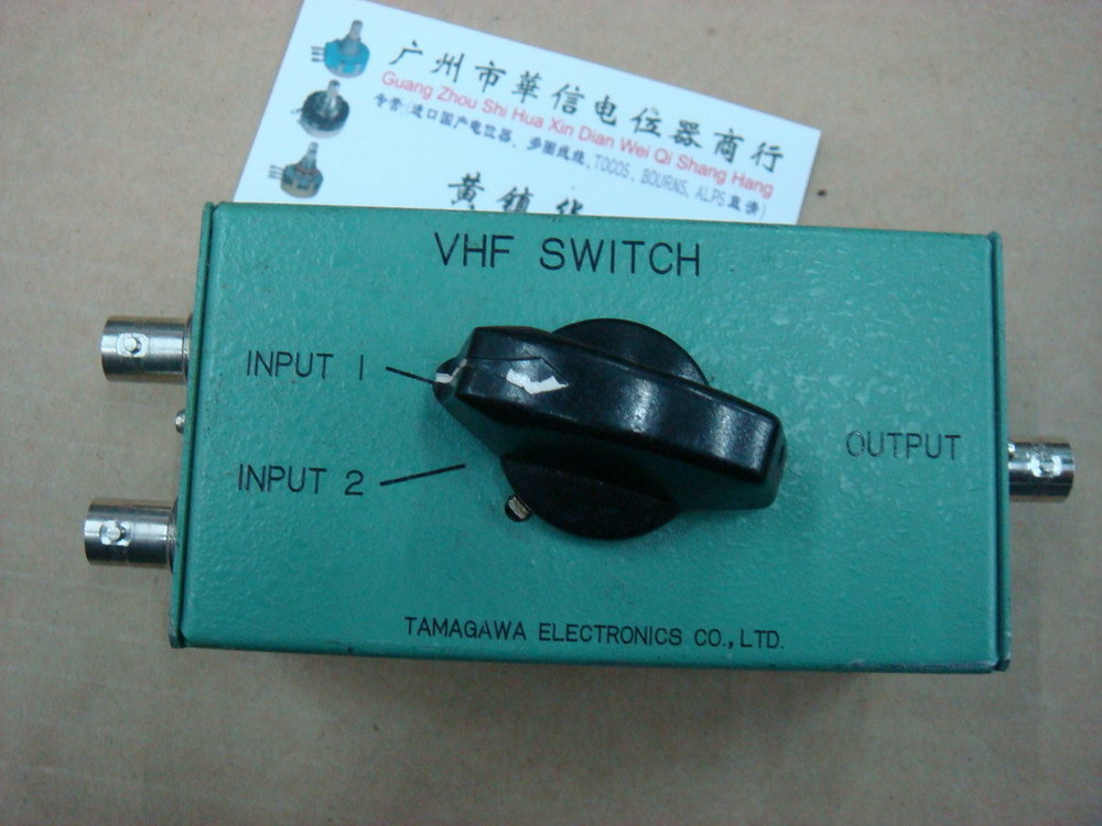[BELLA]Hand imported 2-way UHF adapter VHF SWITCH VCS-202D 50R Europe--5pcs/lot[BELLA]Hand imported 2-way UHF adapter VHF SWITCH VCS-202D 50R Europe--5pcs/lot