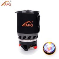 APG 1100 ml Sistema de fuego para cocinar y quemadores de gas portátil estufa de camping gas