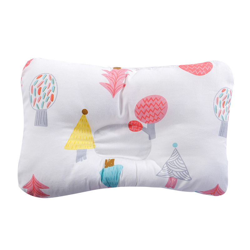 [Simfamily] новая Брендовая детская подушка для новорожденных, поддержка сна, вогнутая подушка, подушка для малышей, подушка для детей с плоской головкой, детская подушка - Цвет: NO17
