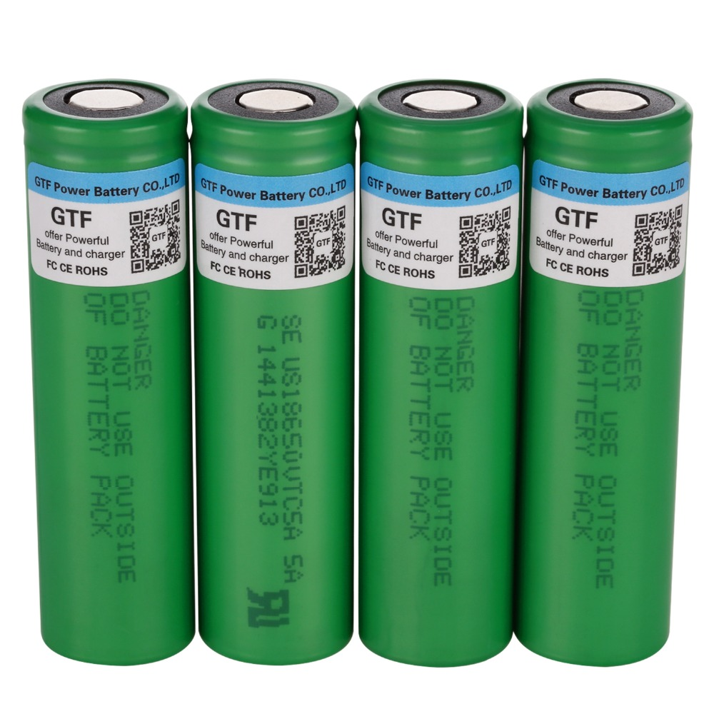 Original 3.7V 3000Mah 18650 Battery for SONY Rechargeable Lithium Batteries 30A Discharge for E-Cigarette Battery Drop shipping