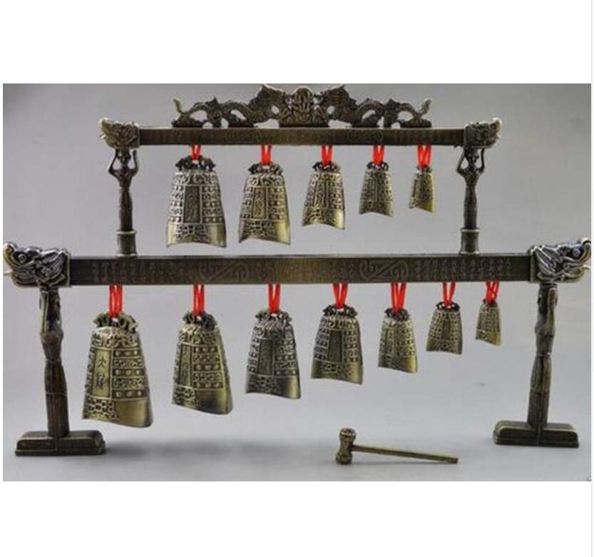 Free Shipping 320beautiful Tibetan Buddhism Cuprum Mantra Singing Bowl Bell
