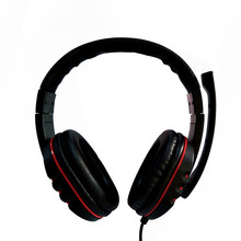 Bluedio Bluetooth Headphone Gaming Headset USB 2.0 Leather Usb Wired Headphone with Microphone 2m for Sony Pc  Andriod iOS