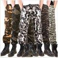 El envío libre 2017 hombres Militares de Camuflaje Pantalones Pantalones Tácticos Masculinos pantalones Largos de Los Hombres Del Ejército de Carga Pantalones hombre 91805