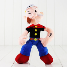 31cm Popeye the Sailor Man Powerful Guy Olive Soft Stuffed Plush Toy Doll Gift for Kids