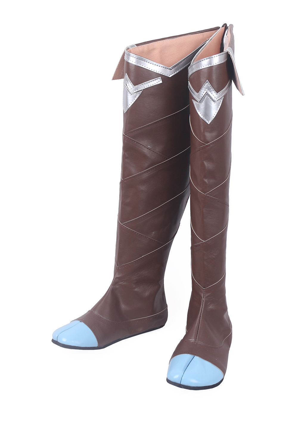 LOL Xayah The Rebel Cosplay Long Boots Shoes (4)