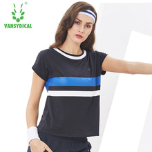 new Sports T-Shirts Women's Gym Yoga Shirts Tops Printed 100%Cotton Breathable Fitness Running Workout Short Sleeve
