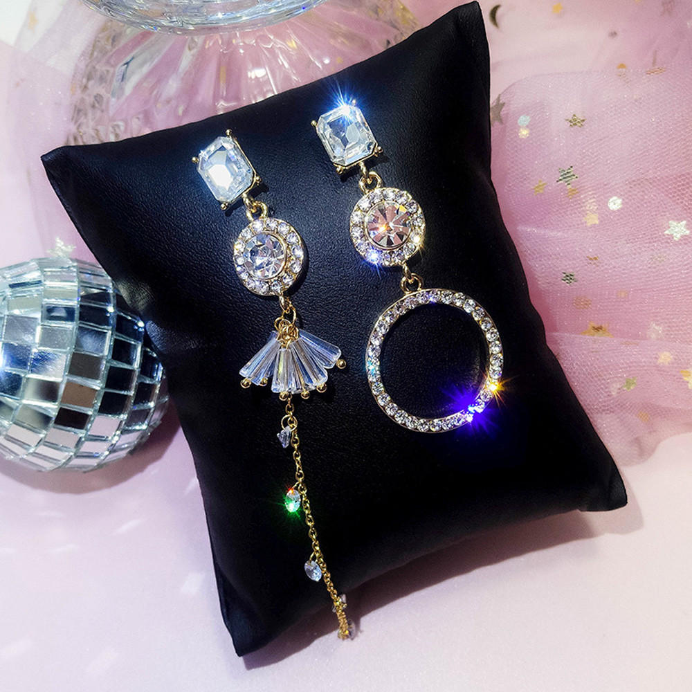 NEW 1 Pair Fashion Lady Earrings Korean style geometric Retro Chic earrings brincos para as mulheres #CJJ