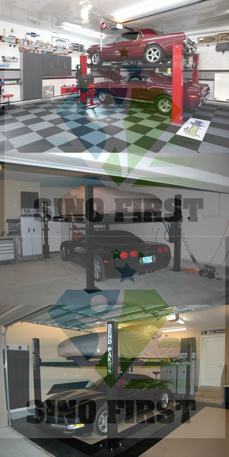 Sinofirst Car Lifting Residential Auto Lift