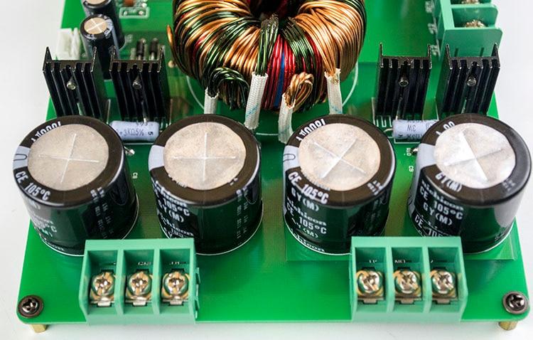 HP-6 Amplificateur De Voiture/12 V Boost Converter Conseil/de Commutation Carte D'alimentation/500 W avec Protection/DC Convertisseur