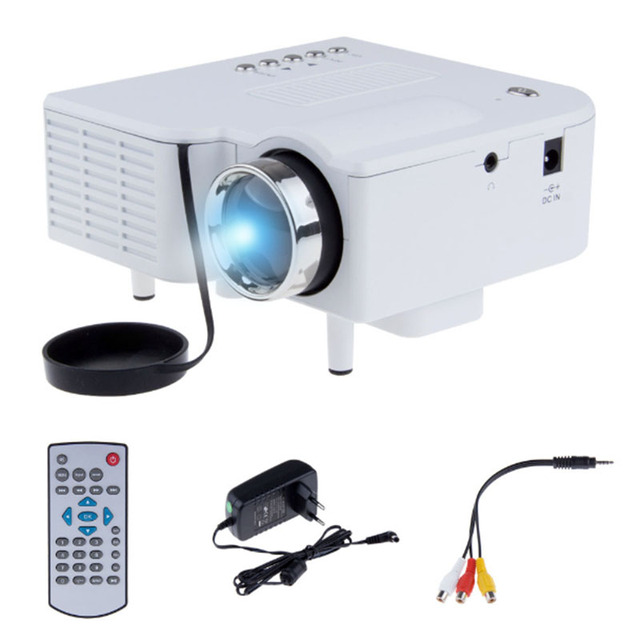 Lcd Projector Pc Av Tv Vga Usb Hdmi Hd 1080p Home Theater: UNIC UC28 Portable LED LCD Projector Cinema Theater
