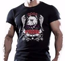 250cdbce6f 2018 Fashion Fashion Men Printed T Shirts Pitbull Dogs Pride Fighting  Workout Motivation Mens Hot Sale