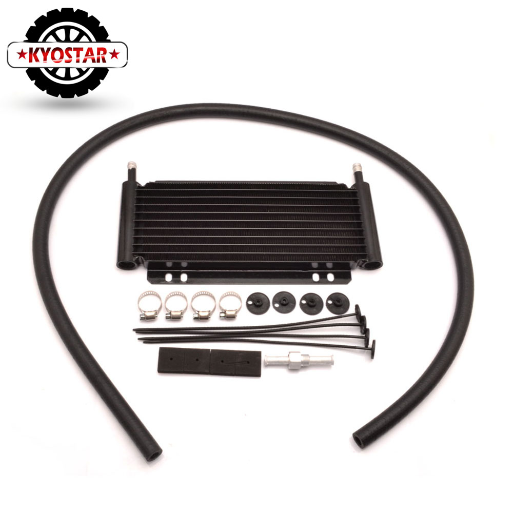 Racing Car Series 8000 Type Transmission Oil Cooler 9 Row Plate Fin 11 x5 7 8