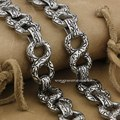 "14"" ~ 36"" Gothic Cross Mens 316L Stainless Steel Biker Wallet Chain 4B006WCA(Length 24inch)"