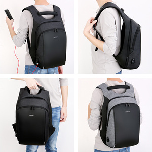 Image 2 - Business mannen Rugzak USB Opladen Anti Diefstal 15.6 Inch Laptop Rugzak Mannelijke Grote Capaciteit College Schooltassen Reizen bagpack