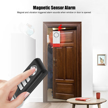 Wireless Magnetic Alarm Unit Small Standalone Independent Door Sensor Alarm Security Protection alarm+Remote Control стоимость