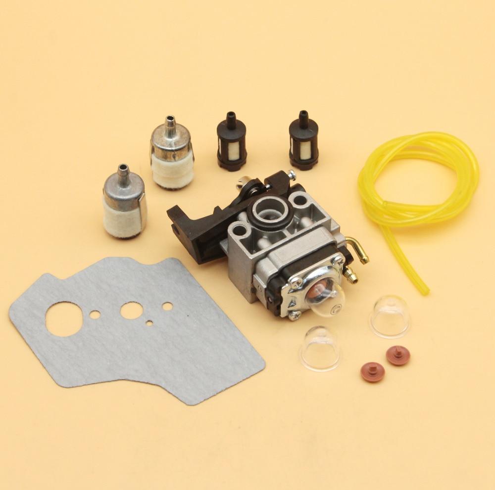carburetor check valve gasket fuel filter hose kit fit honda gx35 gx35nt hht35 hht35s engine motor trimmer brushcutter blower [ 1000 x 991 Pixel ]