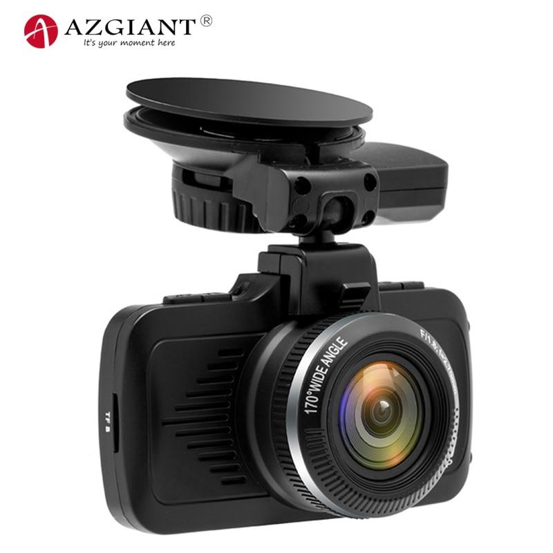 AZGIANT Ambarella A7 Puce Full HD 1080 p Voiture DVR Dash Caméra GPS 12in1 tracker Navigation Vidéo Enregistreur WDR AFIL limite de vitesse