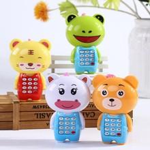 Elektroniczna zabawka telefon muzyczny mały uroczy telefon dla dzieci zabawka wczesna edukacja na telefon komórkowy z postacią z kreskówki telefon komórkowy zabawki dla dzieci tanie tanio Z tworzywa sztucznego Zasilanie bateryjne Edukacyjne Miga Brzmiące 0-12 miesięcy 13-24 miesięcy 2-4 lat 5-7 lat 8-11 lat