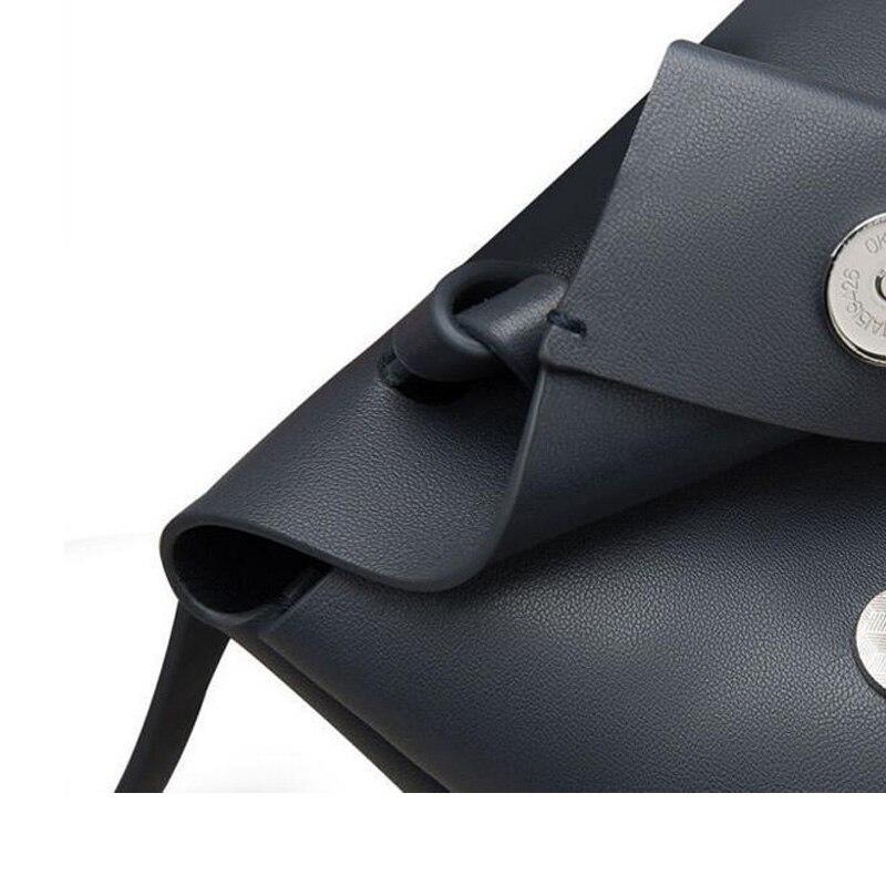 La Mode Cuir Bandoulière deep Hobos Épaule vert Main Blue Noir À Simple Sac Mini Dernière Solide En Multicolore A00ndf