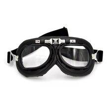 BJMOTO – lunettes de Moto rétro claires, pour casque de style Harley, pour Motocross