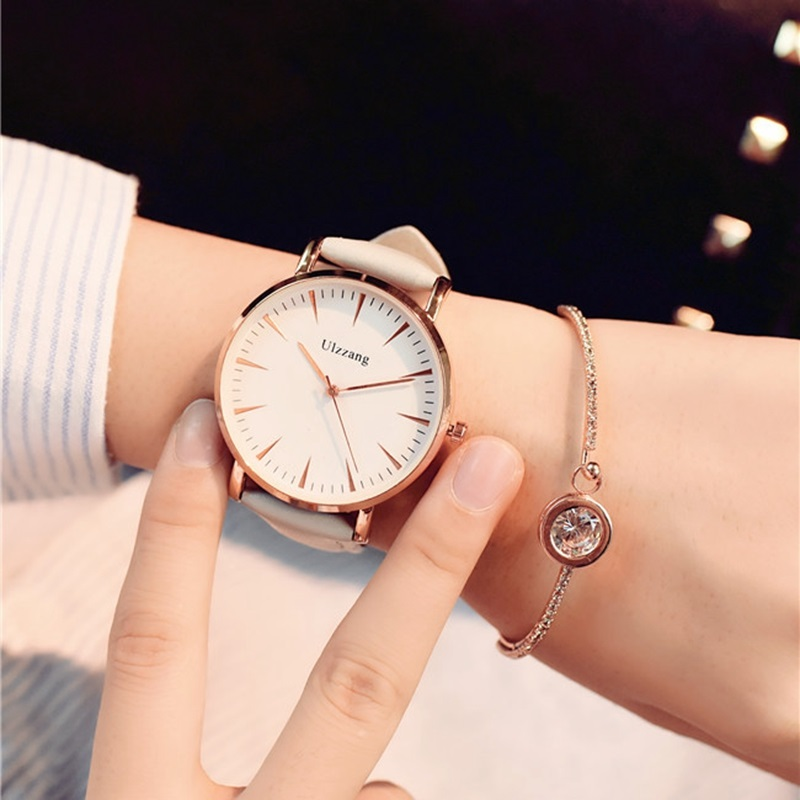 women watches Fashion Brand 2017New quartz-watch Women's Wristwatch clock relojes mujer dress ladies watch Business montre femme tezer ladies fashion quartz watch women leather casual dress watches rose gold crystal relojes mujer montre femme ab2004