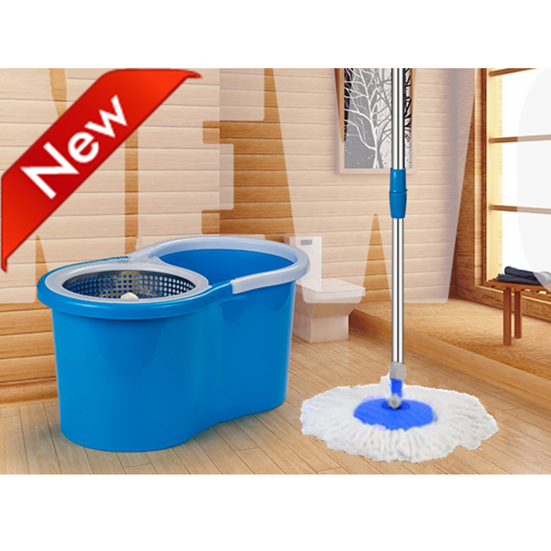 Blue mop with busket cycle using S600BL