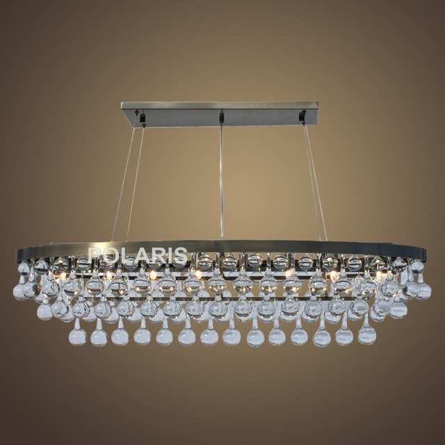 factory outlet modern crystal chandelier lighting oval chandeliers
