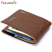 FGJLLOGJGSO New Arrive Wallet Purses Men's Wallets Carteira Masculine Billeteras Porte Monnaie Monedero Famous Brand Men Wallets