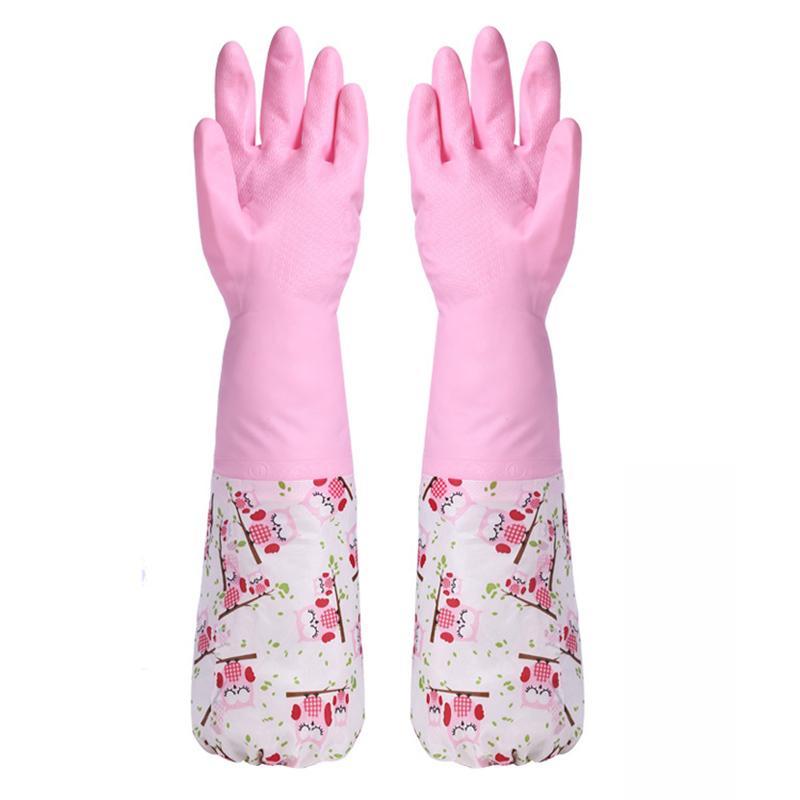 inoltre guanti di gomma velluto utensili da cucina di pulizia lavastoviglie pi di velluto guanti