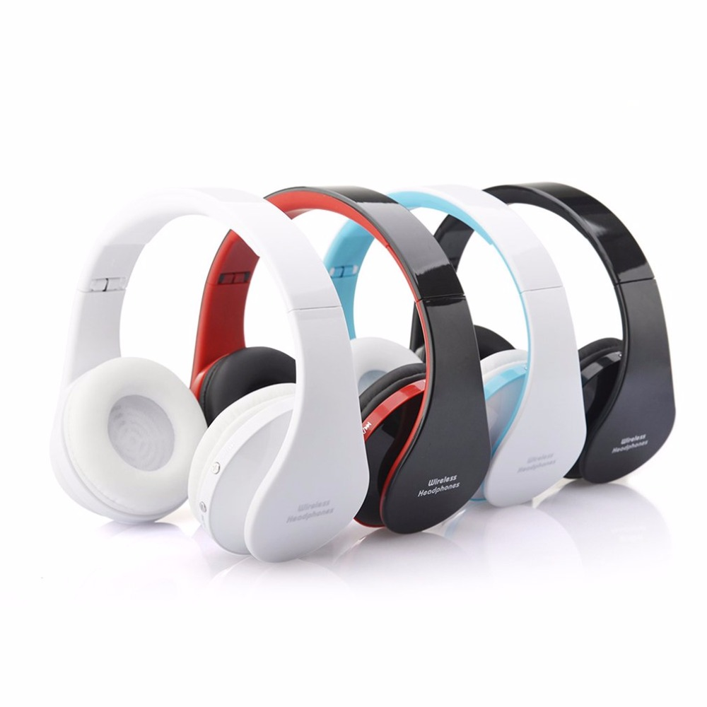 NX-8252 Professional Foldable Wireless for Bluetooth Headphone Super Stereo Bass Effect Portable Headset For DVD MP3 Headset