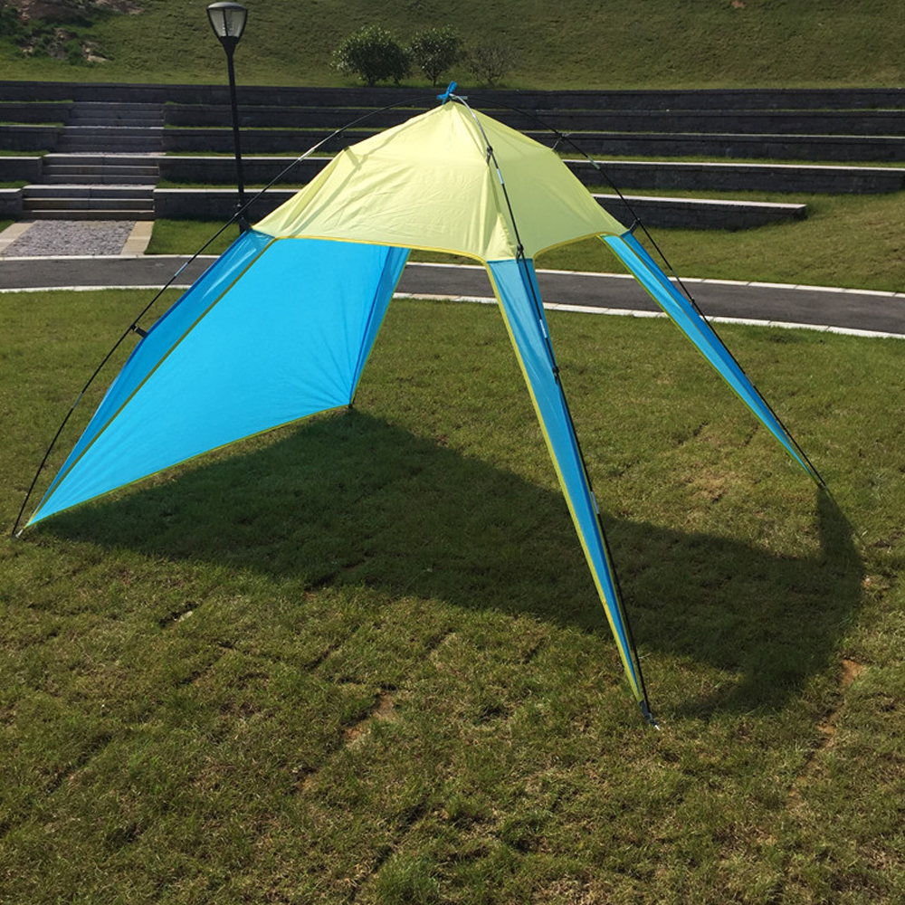 outdoor pu sunshade free shelter mat for survivor multi soldier hunting tent traveling awning portable canopy function fishing products folding waterproof camping