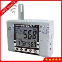 Az 77232 3 в 1 мониторинга качества воздуха детектор CO2 Температура метр измеритель влажности в помещении сигнализация диоксид углерода CO2 тесте