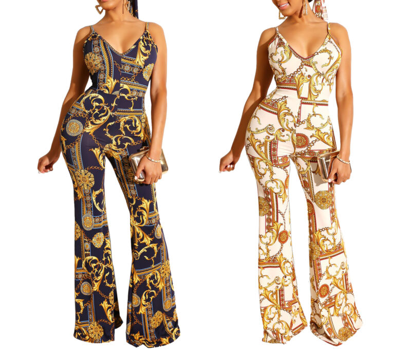 Womens Summer Jumpsuit Romper Bodycon Casual Party Club Long Trousers Bodysuit S XL in Jumpsuits from Women 39 s Clothing