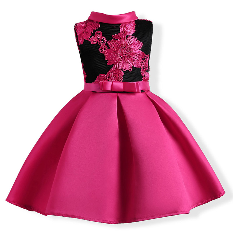 Girls-Dress-Summer-girl-floral-Princess-party-Dresses-Children-clothing-Wedding-tutu-baby-girl-Clothes-2