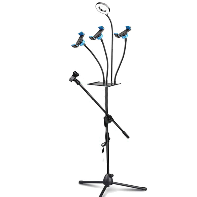 Ring Light and Floor Stand Mic Holder 19