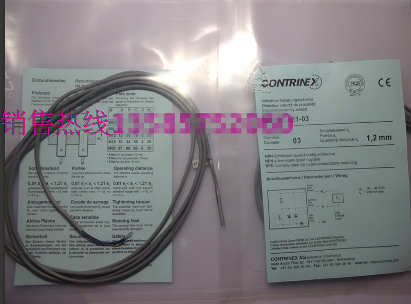Original new 100% special selling high-precision new inductance sensor DW-AD-621-03 proximity switch quality assurance цена