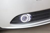 Новый инновационный удара глаза ангела фары дневного света + Галогенные Противотуманные фары объектив проектора для volvo s40, 2 предмета в комп
