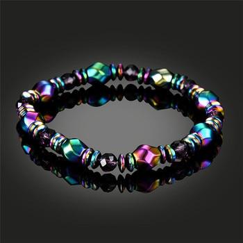 Weight Loss Austrian Crystal Beads Men Bracelet Ataque De Titanes Health Care Bracelets 4