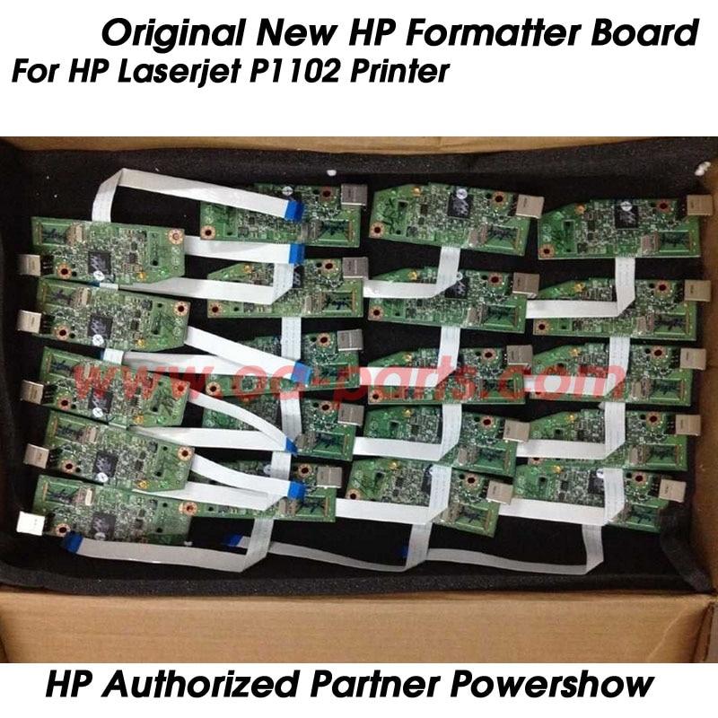 ФОТО 2X New Original CE668-60001 RM1-7600 RM1-7600-000CN for HP P1102 HP1102 Formatter board  Logic Board Printer parts