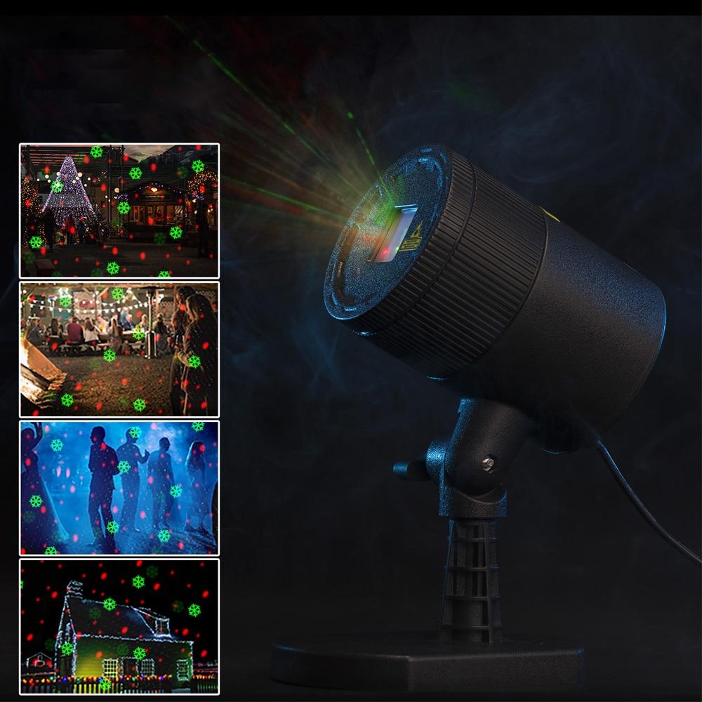 Premium Outdoor Garden Decoration Waterproof IP65 Christmas Laser Spotlight Light Star Projector Showers For Home Decoretion