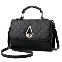 Designer Brand bag ladies quality PU leather handbag dress solid shoulder bag mini bag lady messenger wallet and handbag 2017