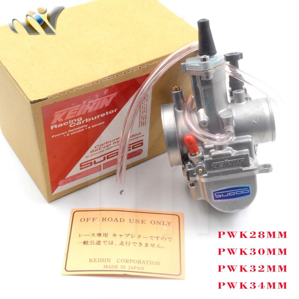 Motorcycle koso pwk28 carburetor Carburador pwk 28 30 32 34 mm with power jet ATV Kart