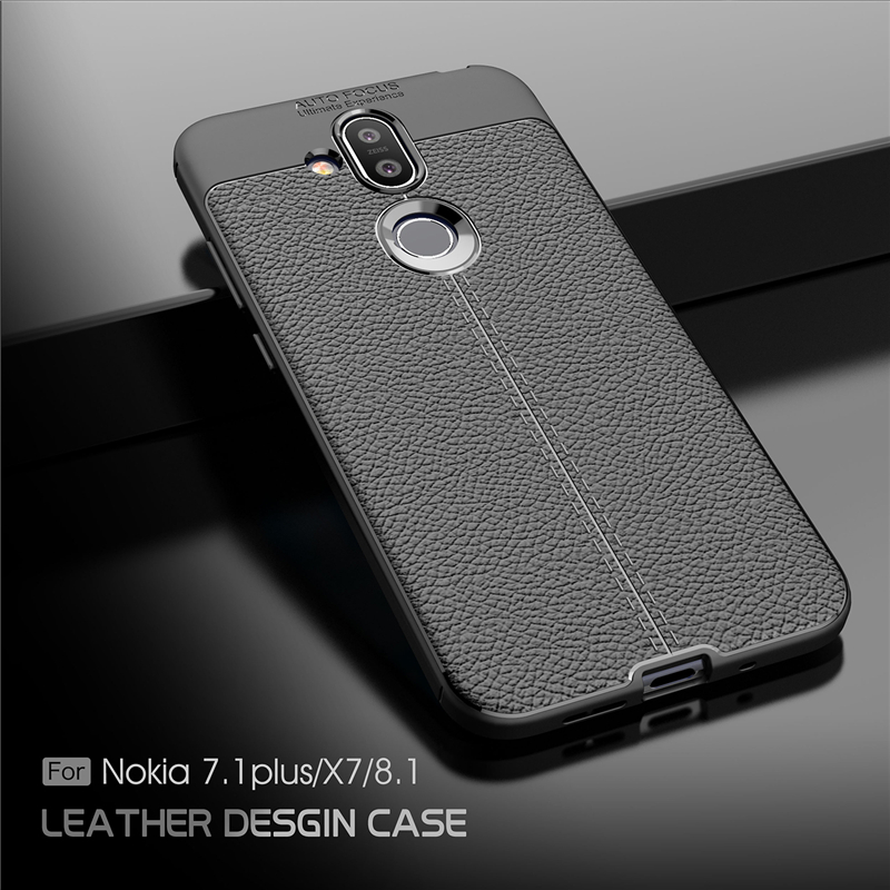 LDCRE For Nokia 8.1 Case Luxury Soft Silicone Coque Phone Case For Nokia 8.1 X7 7.1 Plus Cover For Nokia 8.1 Fundas