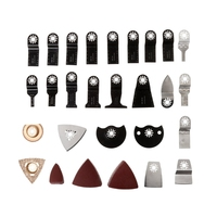 100 pcs Oscillating Multi Tool Saw Blades Accessories kit For FEIN BOSCH MAKITA #Aug.26