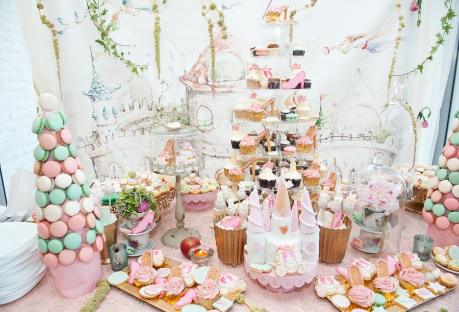 Laeacco Colorful Cake Dessert Baby Children Party Photography Backgrounds Customized Photographic Backdrops For Photo Studio
