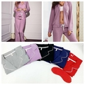 2017 New Arrival Womens Pajama Sets Soft Long Sleeve Women Secret Sleepwear Homewear Pijama Feminino Girls Nightgown 8 Colors
