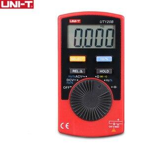 Multímetro Digital estilo UNI-T UT120B de bolsillo, diodo de frecuencia, capacitancia, rango automático, fácil de llevar